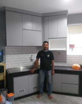 aditya kitchen set bekasi
