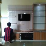 Backdrop TV HPL Minimalis
