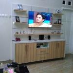 backdrop tv hpl mewah bekasi - Pembuatan Backdrop TV Bekasi