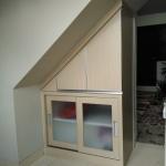 jasa pembuatan lemari bawah tangga bekasi - Lemari Bawah Tangga Minimalis Bekasi