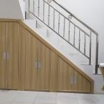 lemari bawah tangga minimalis modern bekasi - Lemari Bawah Tangga Minimalis Bekasi