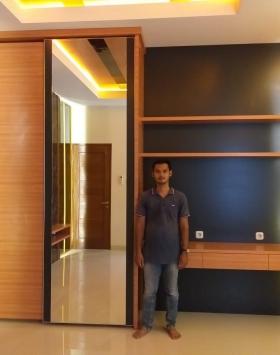 lemari set kamar minimalis bekasi