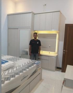 lemari set minimalis bekasi