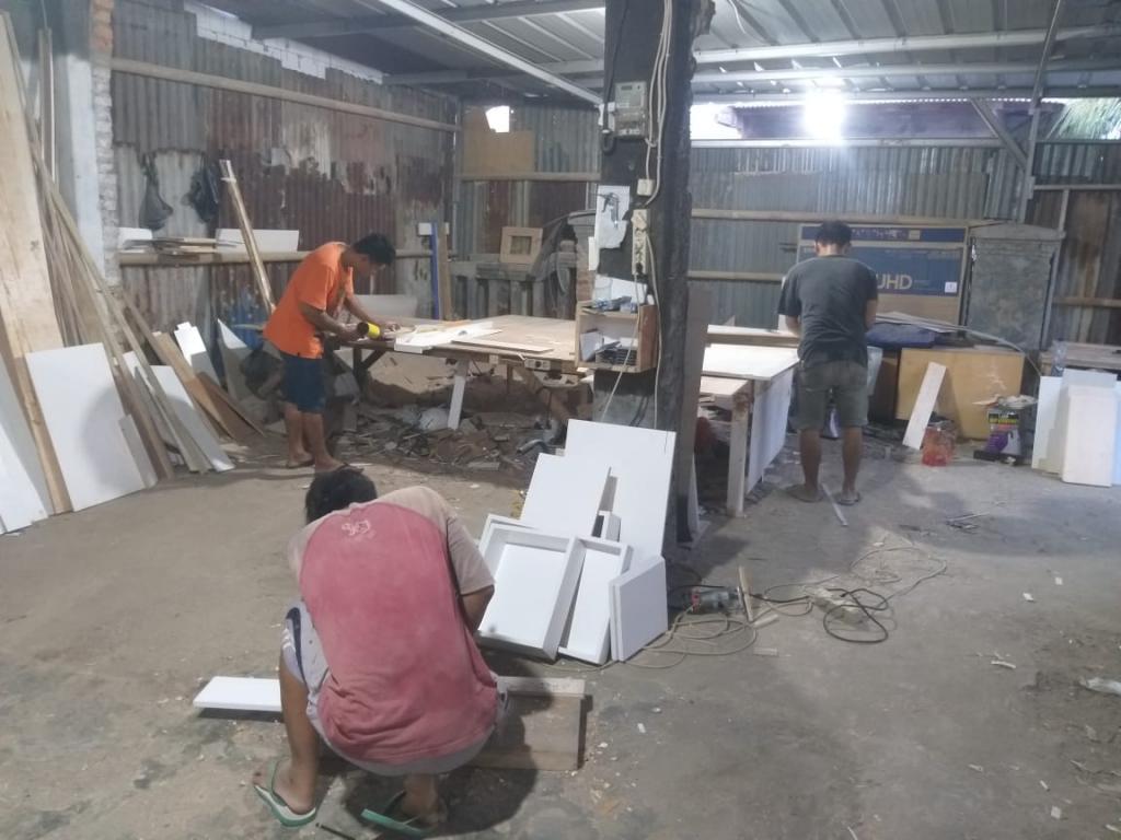 workshop aditya kitchen set bekasi